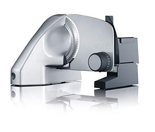 Graef Vivo V 10 - Cortafiambres (230V, 50 Hz, Metal, Metálico)